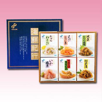 [nu-03]【特価】布目 海鮮紀行(6点セット)