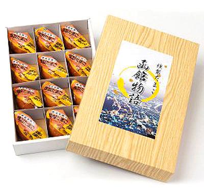 [sk-02]笹川 燻製たまご函館物語(12個 化粧箱入り)