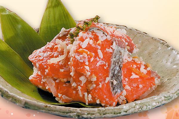 ヤマノ中村商店 紅鮭飯鮨