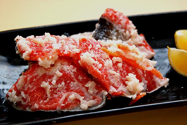 紅さけ飯寿司(いずし)