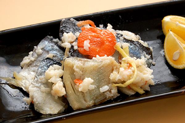 さんま飯寿司(いずし)