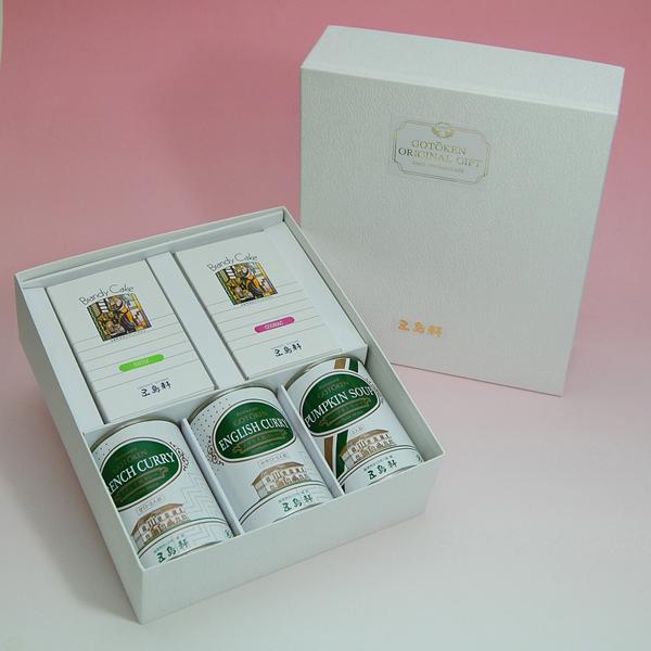 [gt-38]五島軒 缶詰&ブランデーケーキセット